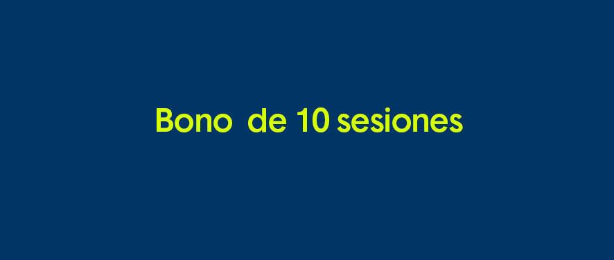 10 sesiones